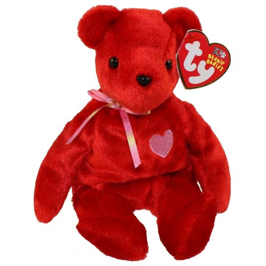 TY Beanie Baby - KISS-e the Old Face Valentines Day Bear (Internet  Exclusive) (8 inch)  BBToyStore.com - Toys 18d735b5298