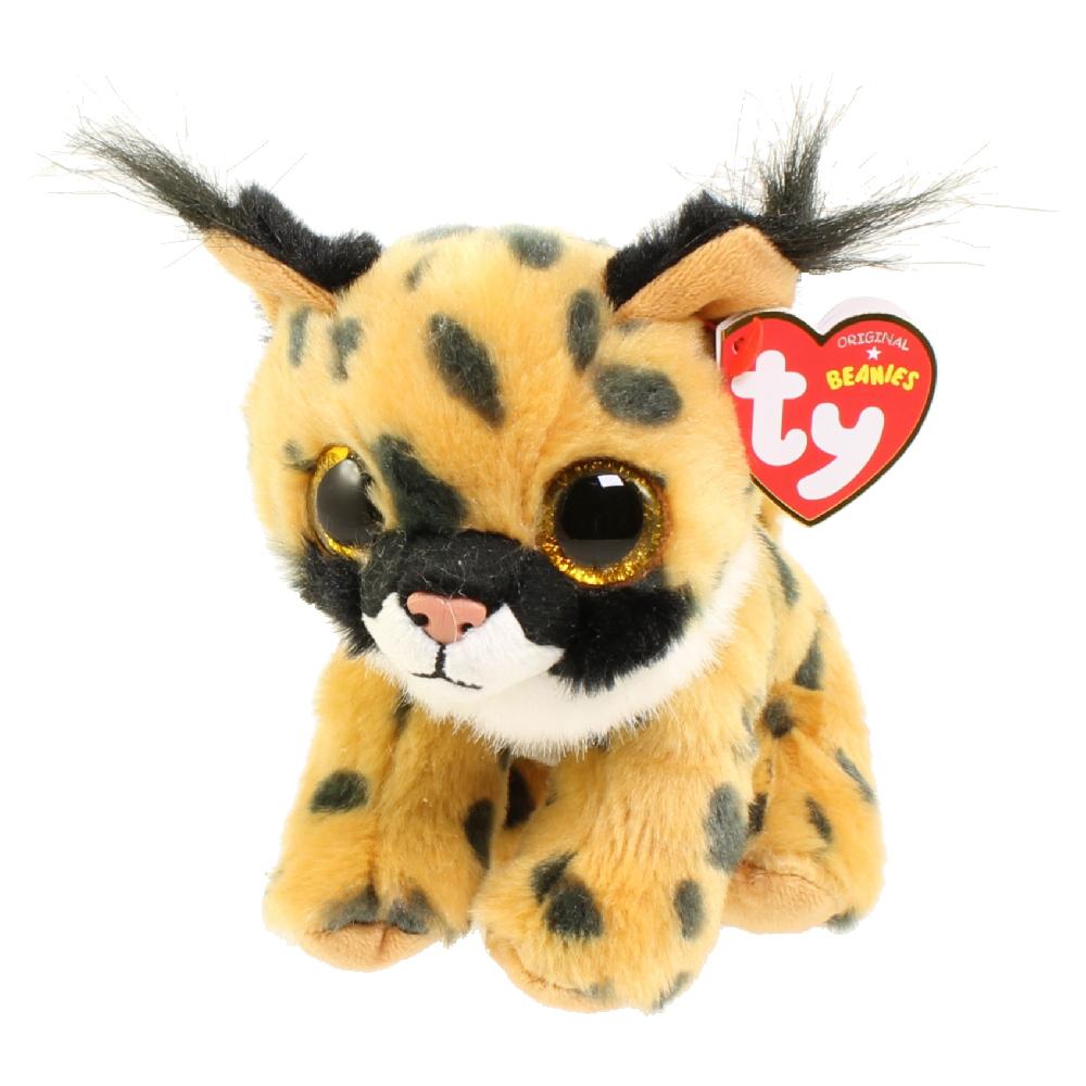 Ty Beanie Baby Larry The Lynx 6 Inch Bbtoystore Com
