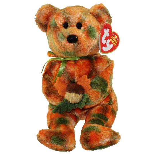 7b7b9e68765 TY Beanie Baby - LEAVES the Bear (Internet Exclusive) (8.5 inch)   BBToyStore.com - Toys