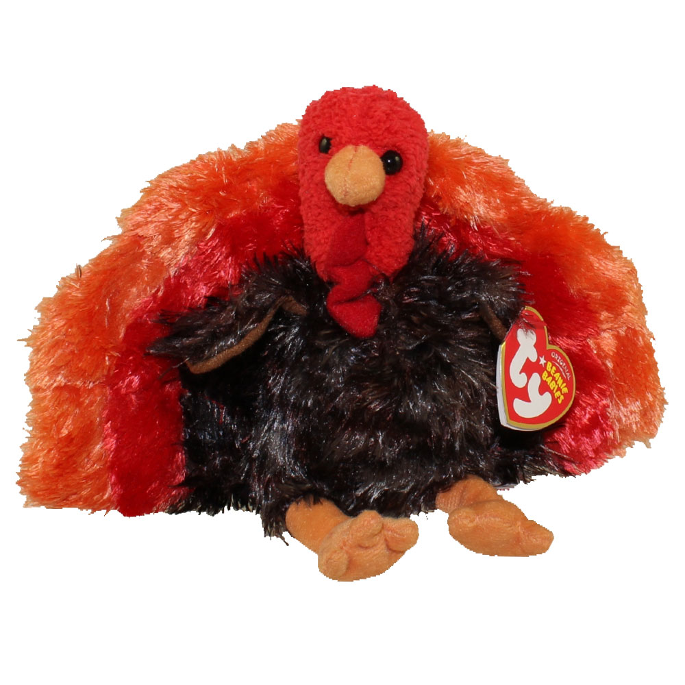 Ty Beanie Baby Leftovers The Turkey 5 Inch Bbtoystore