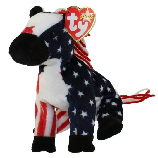Ty Beanie Baby Lefty 2000 The Donkey 6 Inch Bbtoystore Com Toys Plush Trading Cards Action Figures Games Online Retail Store Shop Sale