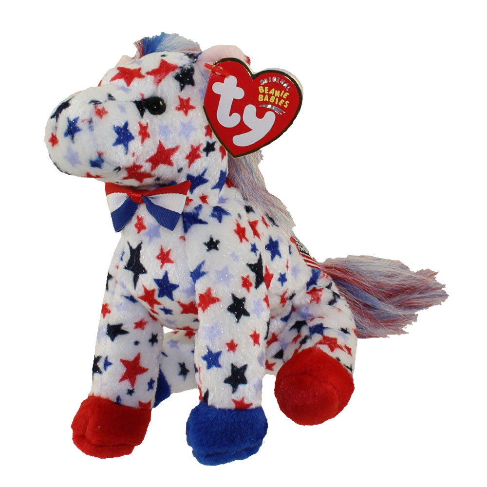 Ty Beanie Baby Lefty 2004 The Donkey 6 Inch Bbtoystore Com Toys Plush Trading Cards Action Figures Games Online Retail Store Shop Sale
