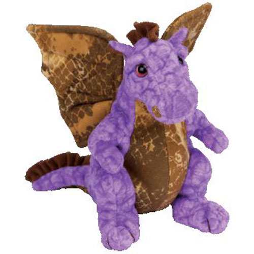 66d77c820f7 TY Beanie Baby - LEGEND the Purple   Gold Dragon (7.5 inch)