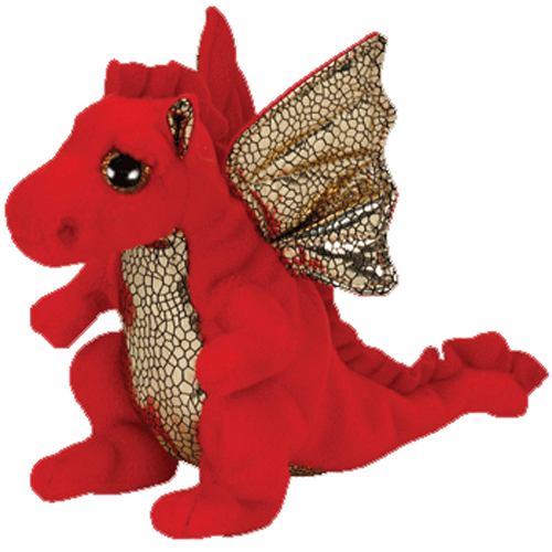 1b0798bd85e TY Beanie Baby - LEGEND the Red Dragon (6 inch)