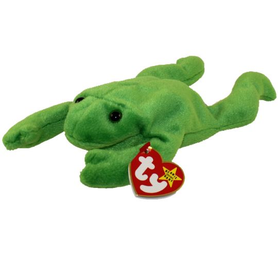 TY Beanie Baby - LEGS the Frog (9 inch)  BBToyStore.com - Toys ... f68f33cff78