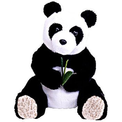 Ty Beanie Baby Li Mei The Panda Bear Internet Exclusive