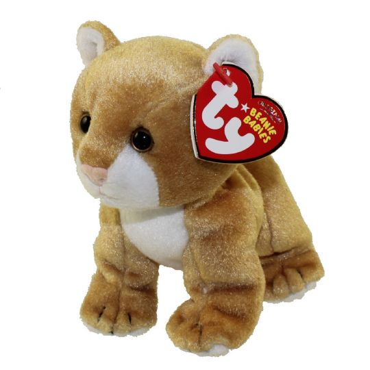 TY Beanie Baby - LINAH the Baby Lion (Internet Exclusive) (5 inch)   BBToyStore.com - Toys e438edb070bb