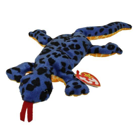 8b335055a23 TY Beanie Baby - LIZZY the Lizard (13 inch)  BBToyStore.com - Toys ...