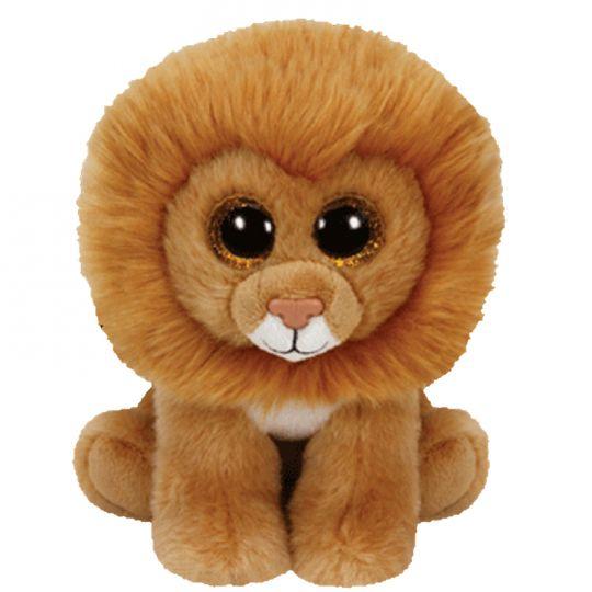 TY Beanie Baby - LOUIE the Lion (6 inch)  Original Release - Light Color    BBToyStore.com - Toys d4a5e7bf69ee