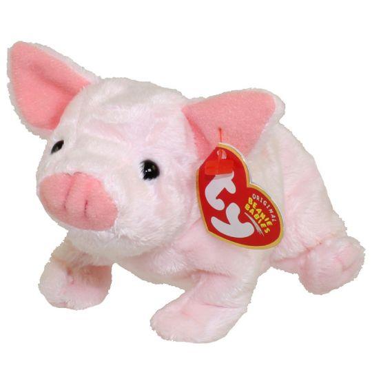 TY Beanie Baby - LUAU the Pig (6 inch)  BBToyStore.com - Toys 21322dc9bab