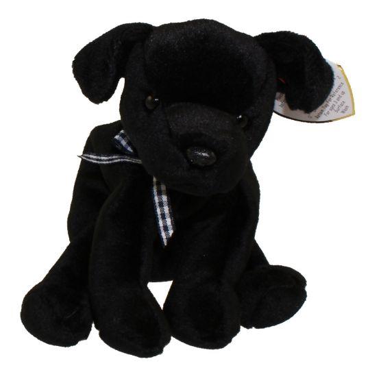 TY Beanie Baby - LUKE the Black Lab (5 inch)  BBToyStore.com - Toys ... 45973e04b63
