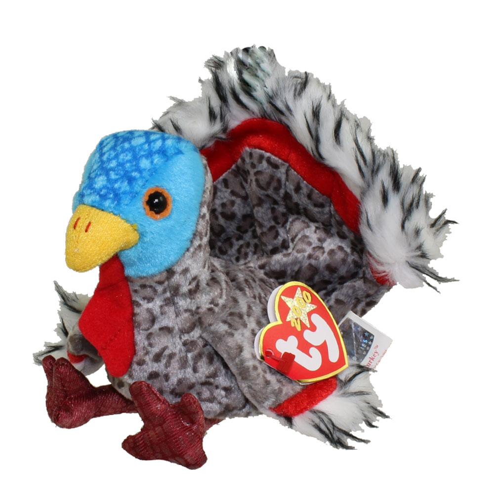 Turkey For Sale >> TY Beanie Baby - LURKEY the Turkey (5 inch): BBToyStore.com - Toys, Plush, Trading Cards, Action ...