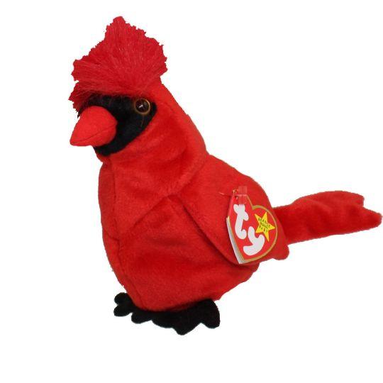 Ty Beanie Baby Mac The Cardinal 5 Inch Bbtoystore Com Toys