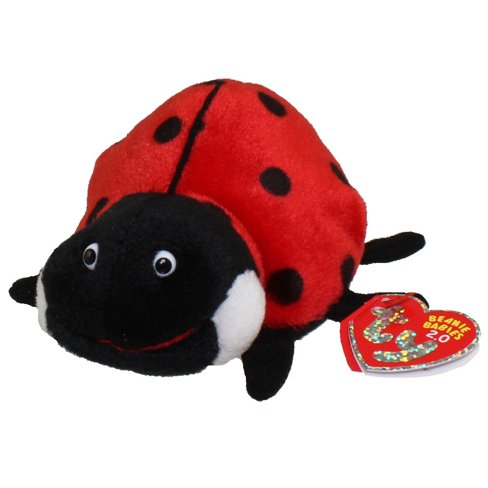 b2fcabfed33 TY Beanie Baby 2.0 - MAIDEN the Ladybug (5 inch)