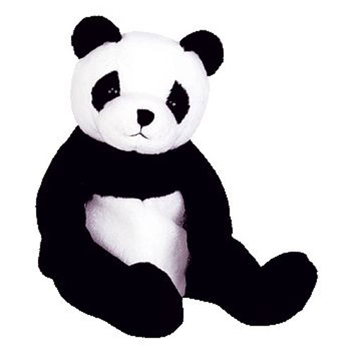 6e4a6148049 TY Beanie Baby - MANDY the Panda Bear (7.5 inch)  BBToyStore.com - Toys
