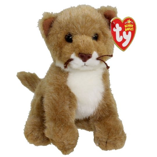 TY Beanie Baby - MANES the Lion (6 inch)  BBToyStore.com - Toys ... 0fbd67f98ba7