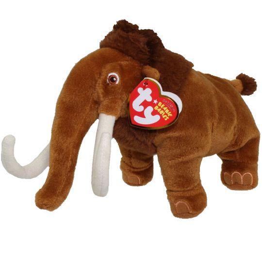 TY Beanie Baby - MANNY the Mammoth ( Ice Age 3 Movie Beanie ) (8.5 inch)   BBToyStore.com - Toys 3c281c9d4