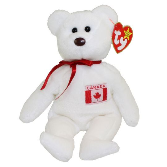 TY Beanie Baby - MAPLE the Bear (Canada Exclusive) (8.5 inch)   BBToyStore.com - Toys d787bf386fb