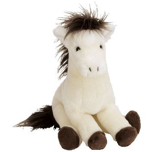 Ty Beanie Baby Derby The Horse With Star Amp Yarn Mane