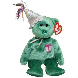 ec35fd664e0 TY Beanie Babies - BIRTHDAY Bears with Hats (Set of 12 Months)(9.5 ...