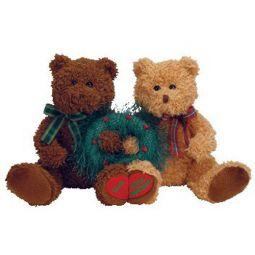 6185dee71b2 TY Beanie Babies - MERRY KISS-MAS the Holiday Bears (set of 2)