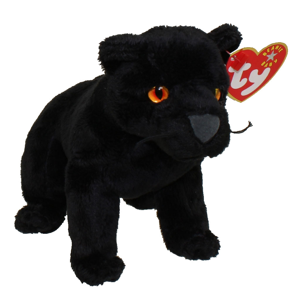 TY Beanie Baby - MIDNIGHT the Black Panther (5.5 inch) 77749c05cc84