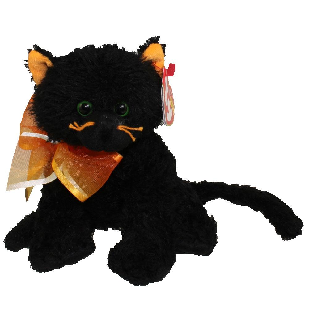 Ty Beanie Boos Shadow Cat - Parchment N Lead 503b9e3ca6a8