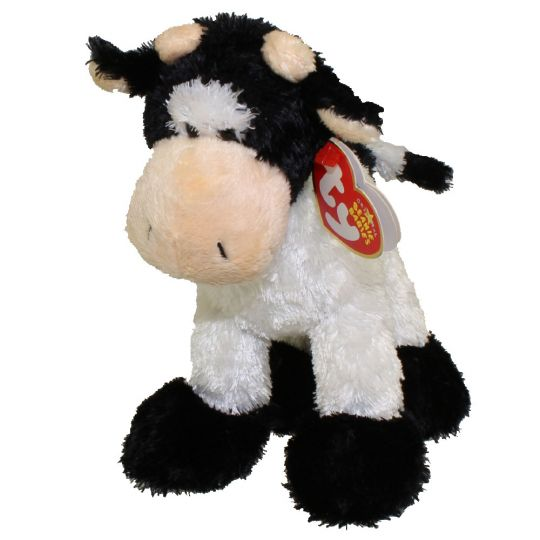 TY Beanie Baby - MOOOSLY the Cow (6 inch)  BBToyStore.com - Toys 16aa62fbe6e