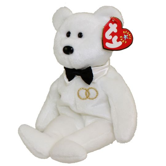 73969f39832 TY Beanie Baby - MR the Groom Bear (8 inch)  BBToyStore.com - Toys ...