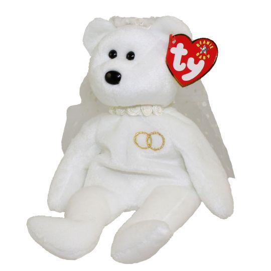 561094a9b96 TY Beanie Baby - MRS the Bride Bear (8.5 inch)  BBToyStore.com - Toys