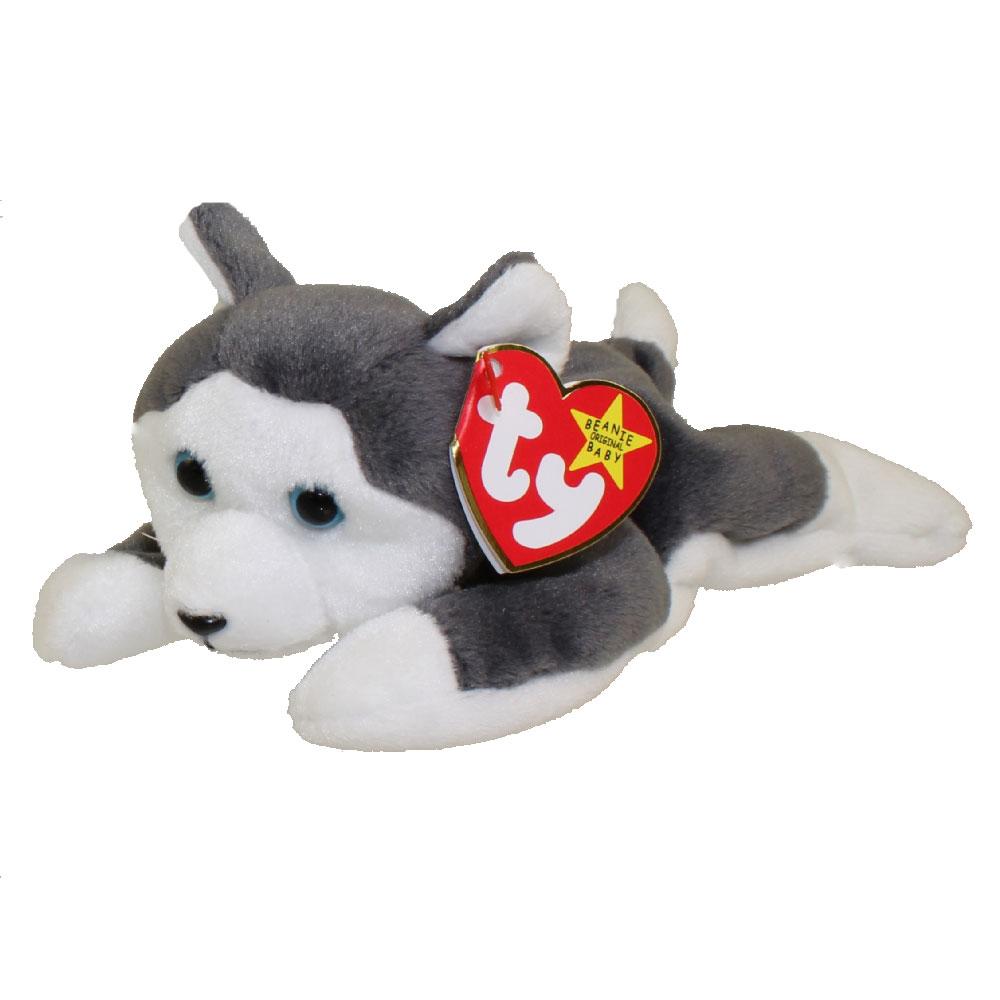TY Beanie Baby - NANOOK the Husky (7.5 inch)  BBToyStore.com - Toys ... 1bc124411b6