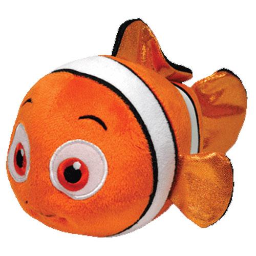 TY Beanie Baby - Disney Sparkle - NEMO the Clownfish  BBToyStore.com -  Toys 3130534f664