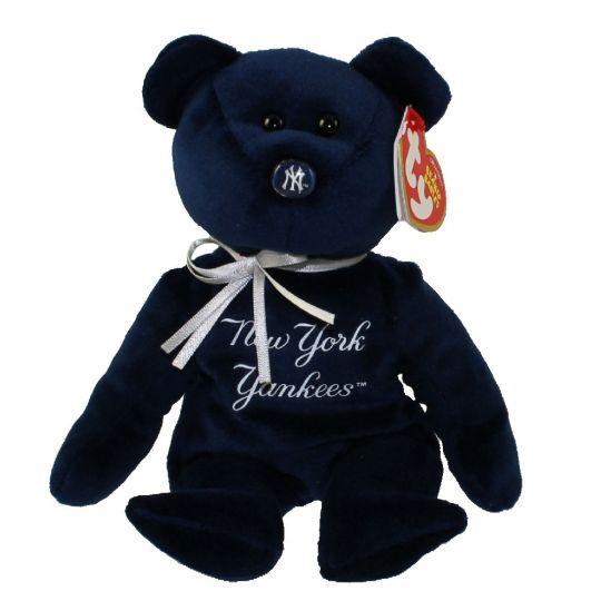 TY Beanie Baby - MLB Baseball Bear - NEW YORK YANKEES (8.5 inch)   BBToyStore.com - Toys 87f8ebba764