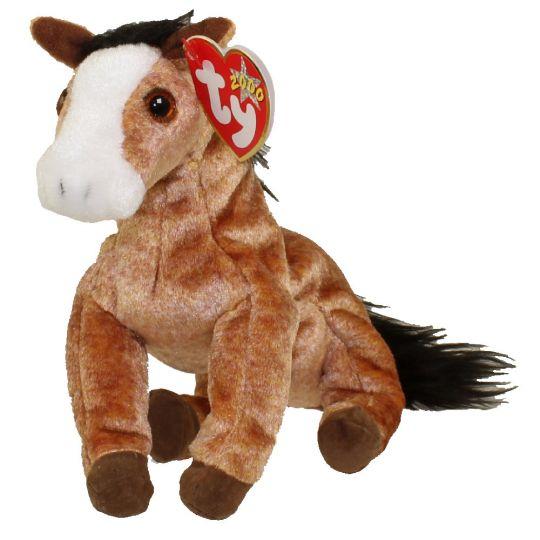 Ty Beanie Baby Oats The Horse 7 Inch Bbtoystore Com Toys