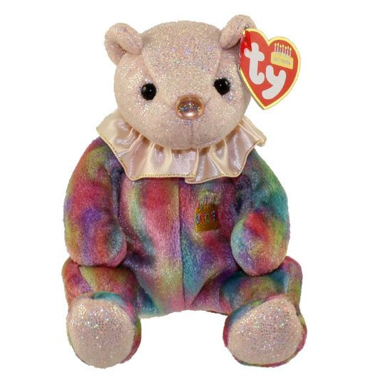 TY Beanie Baby - OCTOBER the Birthday Bear (7.5 inch)  BBToyStore.com -  Toys c0a2aacac57