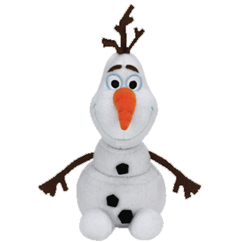 ty beanie baby olaf the snowman disney frozen toys plush trading cards. Black Bedroom Furniture Sets. Home Design Ideas