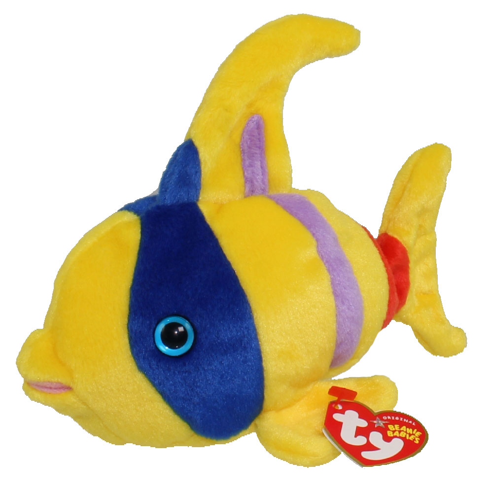 ty beanie baby oriel the fish 7 inch