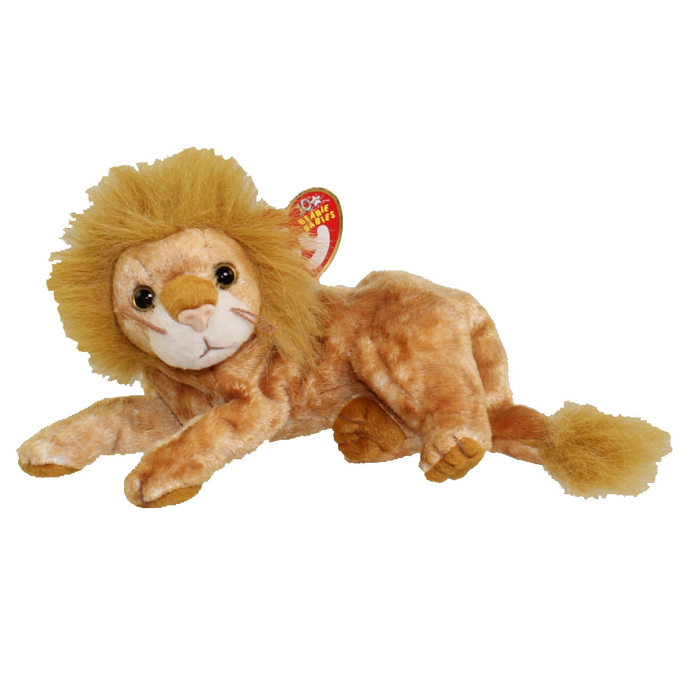 TY Beanie Baby - ORION the Lion (7.5 inch)  BBToyStore.com - Toys ... 90eb7359db59