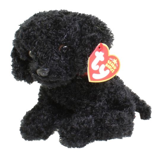 Ty Beanie Baby Outlaw The Black Lab Dog 5 5 Inch Bbtoystore Com