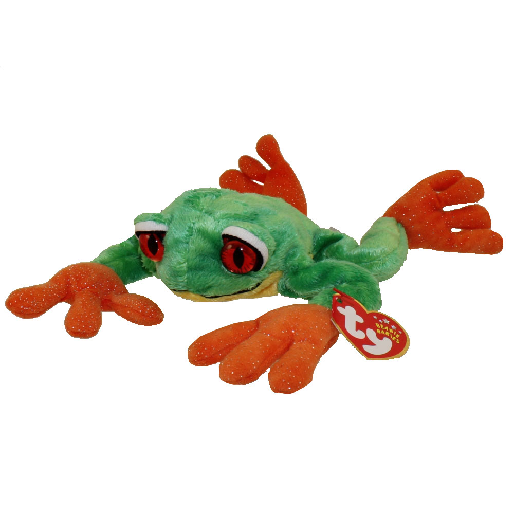 7ef909e608d TY Beanie Baby - PANAMA the Tree Frog (9.5 inch)