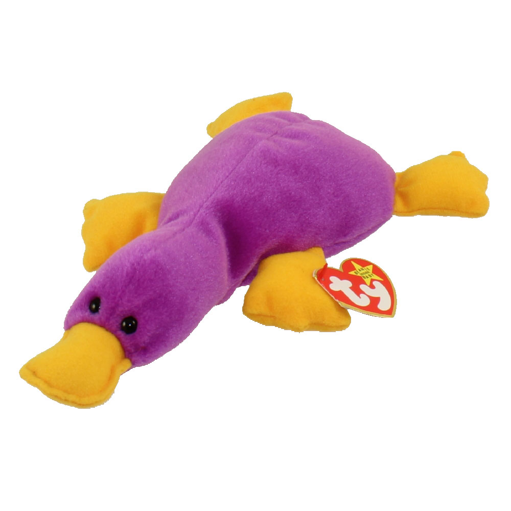 TY Beanie Baby - PATTI the Platypus (9.5 inch): BBToyStore.com - Toys, Plush, Trading Cards, Action Figures & Games online retail store shop sale