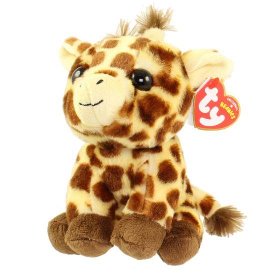 TY Beanie Baby - PEACHES the Giraffe (6 inch)  BBToyStore.com - Toys ... 3eadd3f887b