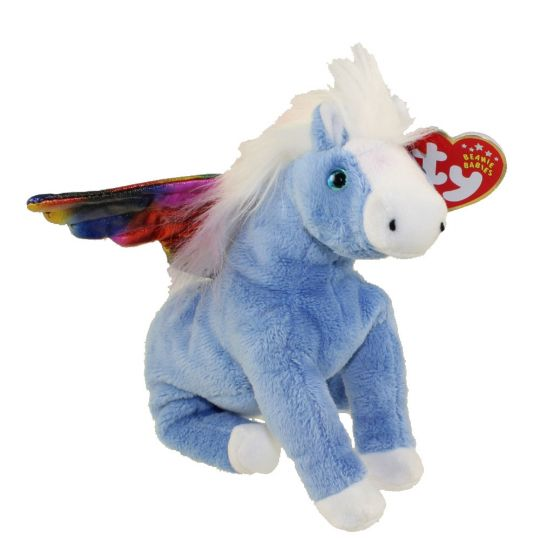 d8235a12a86 TY Beanie Baby - PEGASUS the Pegasus (6 inch)  BBToyStore.com - Toys ...
