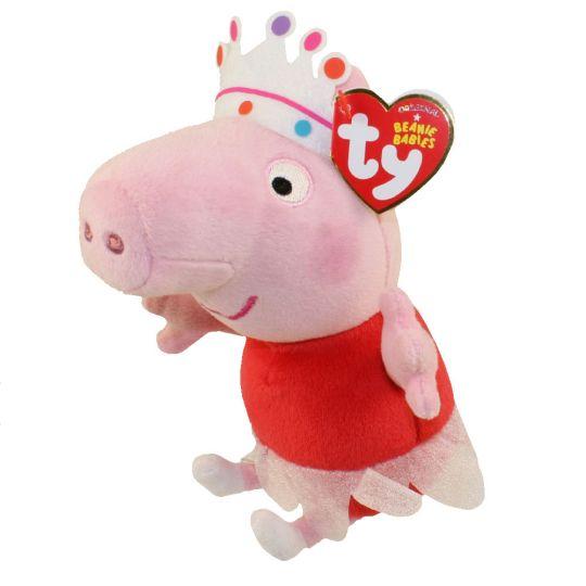 85352c75e0d TY Beanie Baby - BALLERINA PEPPA PIG the Pig (Peppa Pig) (6.5 inch)   BBToyStore.com - Toys