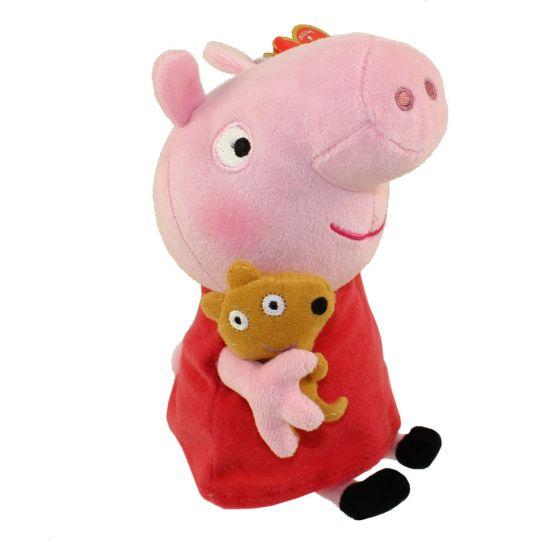 7b581c3667e TY Beanie Baby - PEPPA PIG (U.S. Version Peppa Pig - 6 inch)   BBToyStore.com - Toys