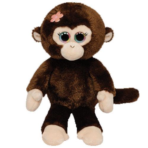 ty beanie baby - petals the monkey  6 inch   bbtoystore com