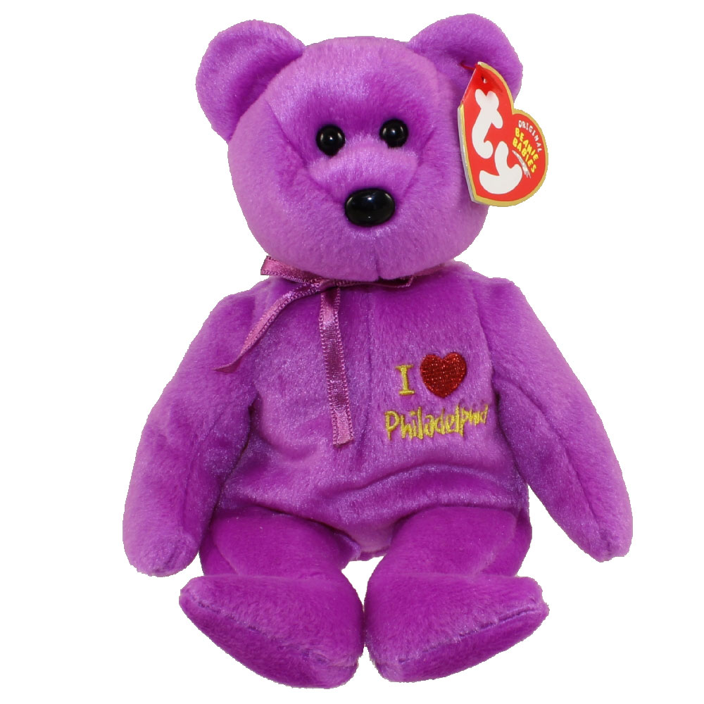 TY Beanie Baby - PHILADELPHIA the Bear (I Love Philadelphia - Show Exclusive)  ( c3cf20488621