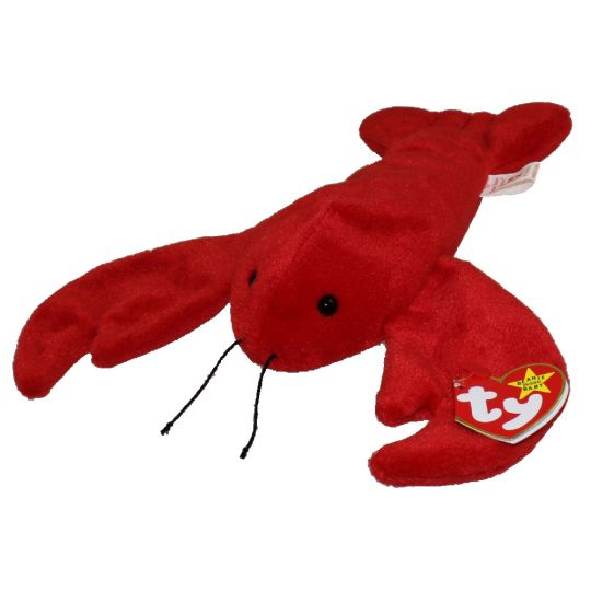 TY Beanie Baby - PINCHERS the Lobster (8 5 inch)