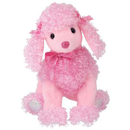 Ty Pinkys Pinky Poo The Pink Poodle 7 Inch Bbtoystore Com