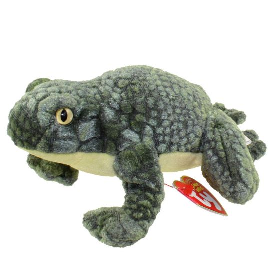 TY Beanie Baby - PONDER the Frog (6 inch)  BBToyStore.com - Toys ... b541c3a8a5c